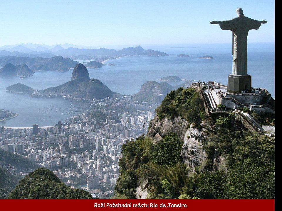 Boží Požehnání městu Rio de Janeiro.