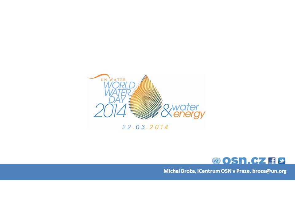 VODA A ENERGIE voda vyžaduje energii a energie vyžaduje vodu omezená nabídka a rostoucí poptávka šetření energií = šetření vodou a v.v.