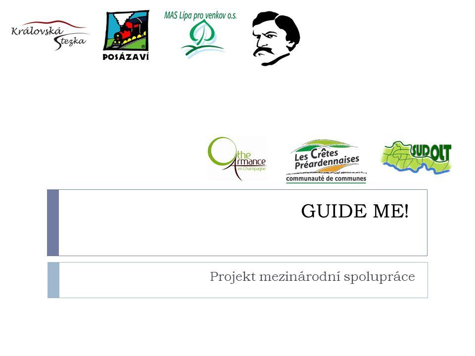GUIDE ME! Projekt mezinárodní spolupráce