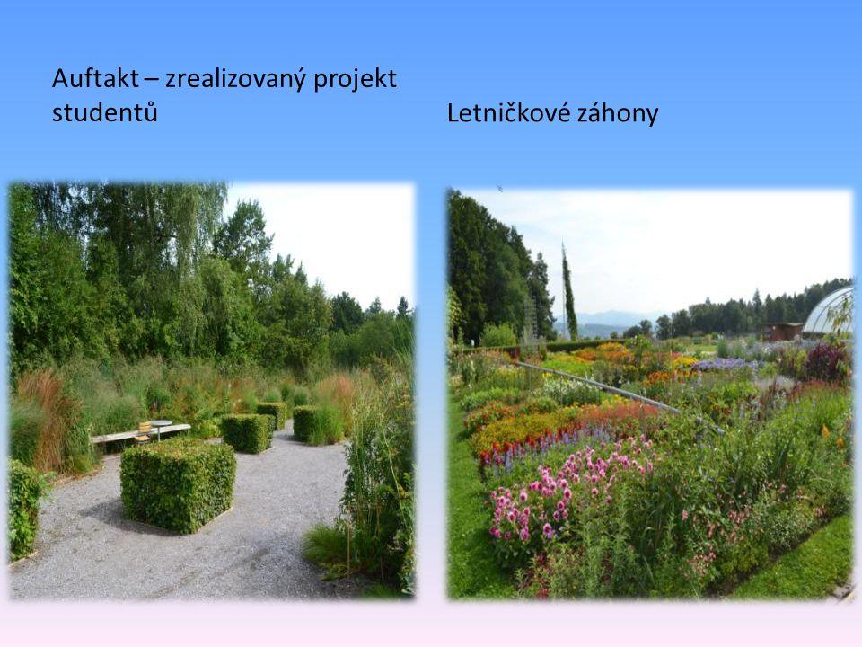 Auftakt – zrealizovaný projekt studentůLetničkové záhony