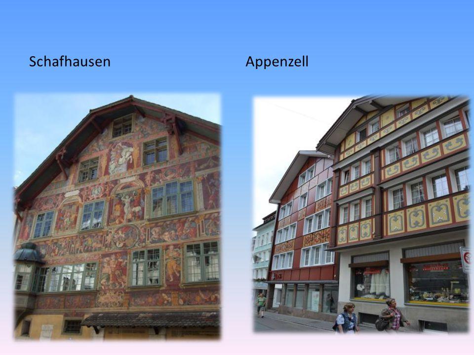 SchafhausenAppenzell
