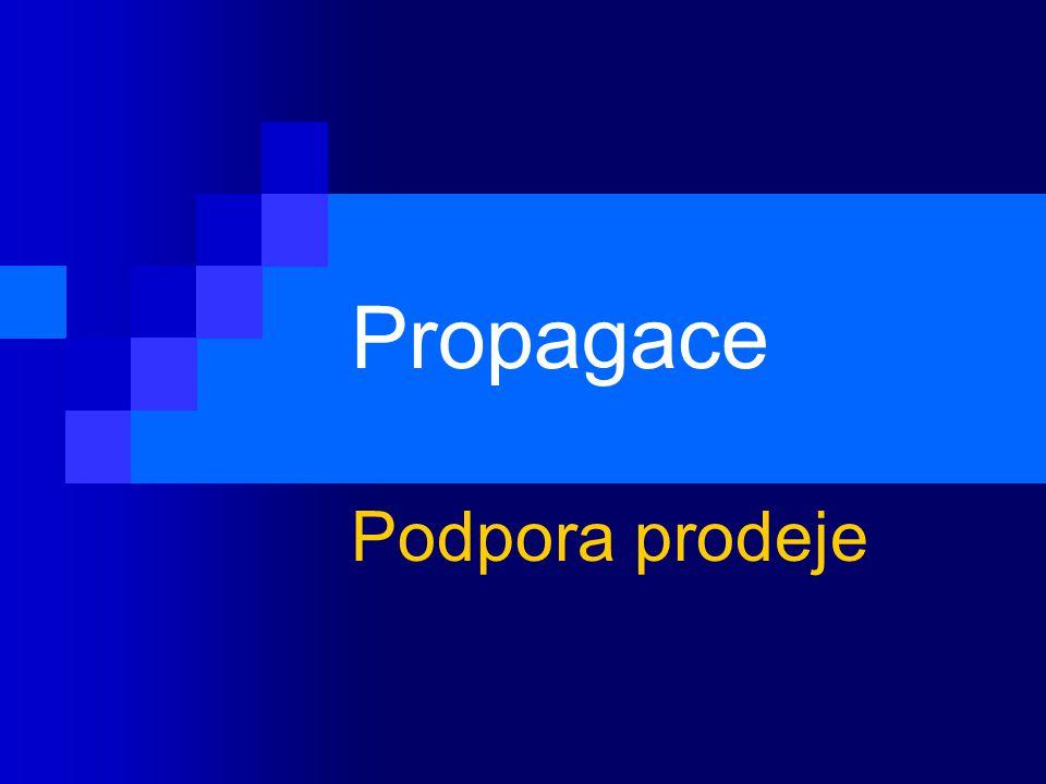 Propagace Podpora prodeje
