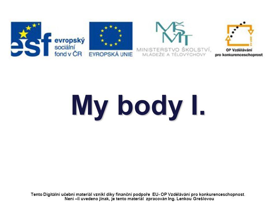 Hello! My name is Lucy. Let me show you parts of my body. Zdroj obrázků: www.obrazky.cz