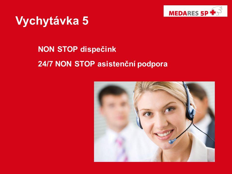 Vychytávka 5 NON STOP dispečink 24/7 NON STOP asistenční podpora