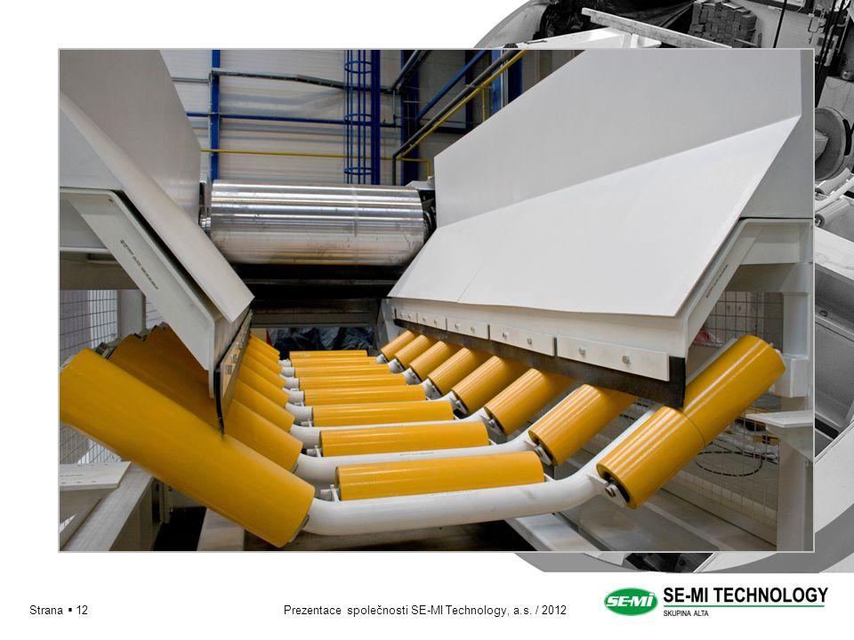 Prezentace společnosti SE-MI Technology, a.s. / 2012Strana  12