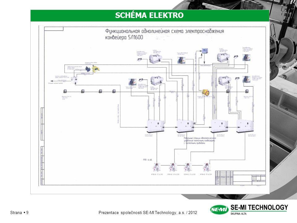 Prezentace společnosti SE-MI Technology, a.s. / 2012 Strana  9 SCHÉMA ELEKTRO