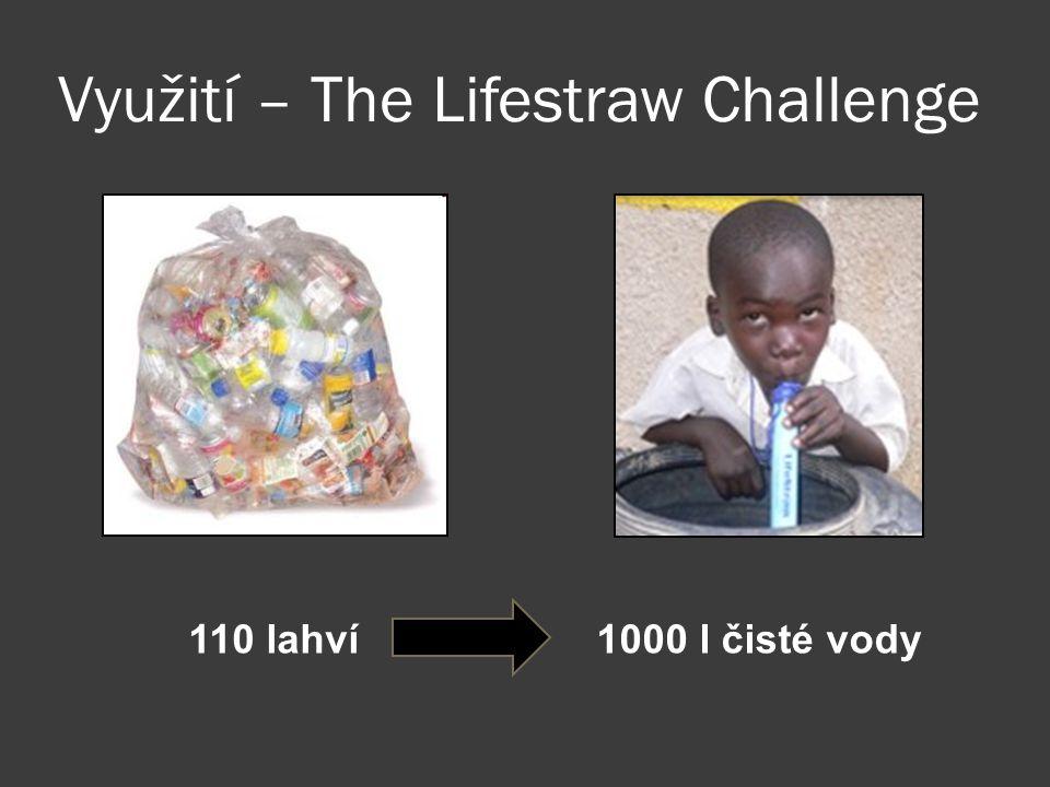 Využití – The Lifestraw Challenge 110 lahví1000 l čisté vody