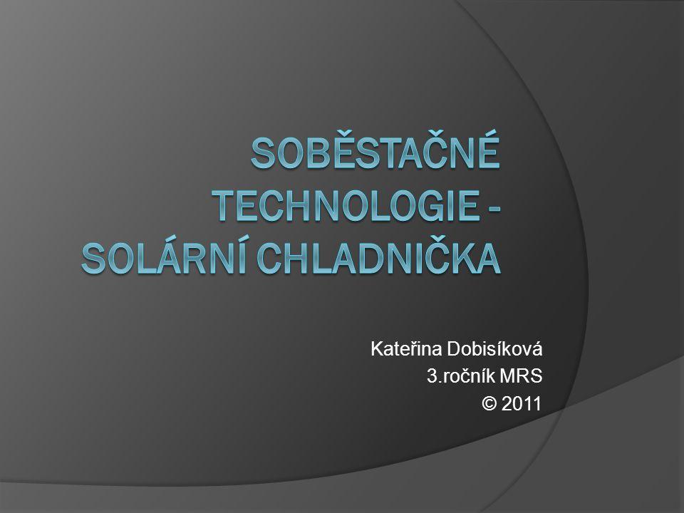 Kateřina Dobisíková 3.ročník MRS © 2011