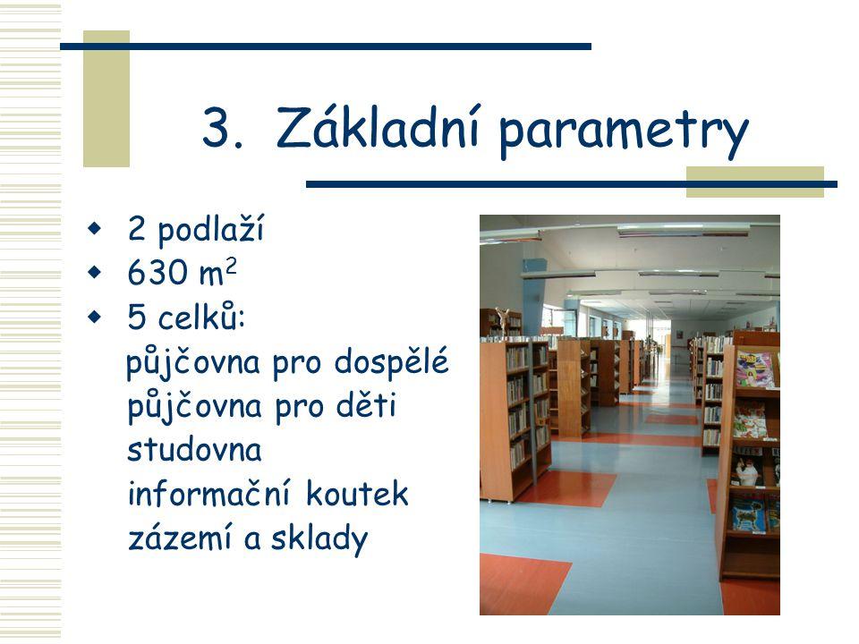 2. Proč se vlastně knihovna stěhovala?  vysoký nájem v původních prostorách na ulici Masarova