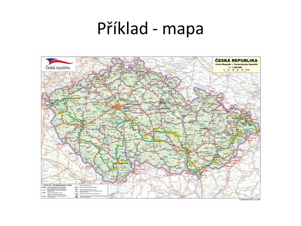 Příklad - mapa
