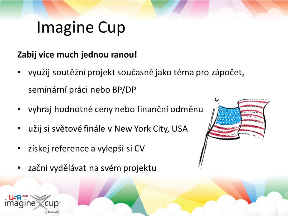 Imagine Cup – úspěšné projekty tým studentů z Brna projekt SilentBooks tým studentů z Brna projekt SilentBooks tým studentů z Brna projekt HOPE tým studentů z Brna projekt HOPE tým studentů z Brna projekt GINA tým studentů z Brna projekt GINA