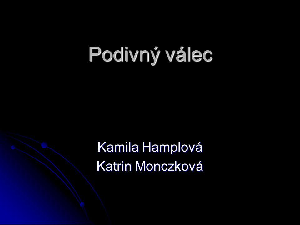 Podivný válec Kamila Hamplová Katrin Monczková