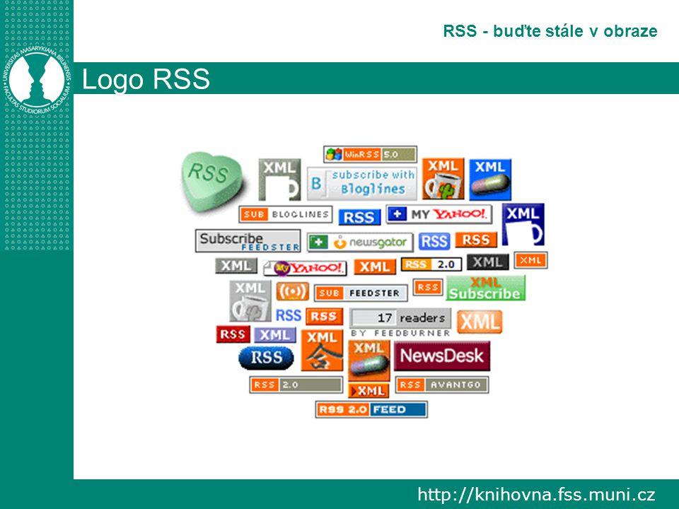 http://knihovna.fss.muni.cz RSS - buďte stále v obraze Logo RSS
