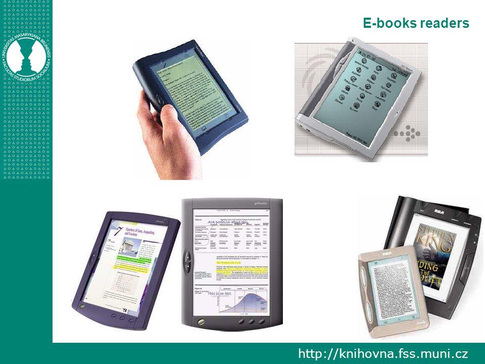 http://knihovna.fss.muni.cz E-books readers