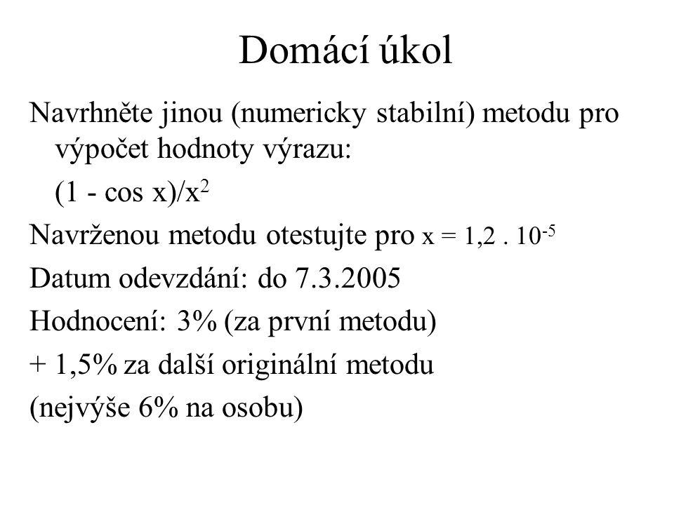 Mocninné řady - rovnice (1)
