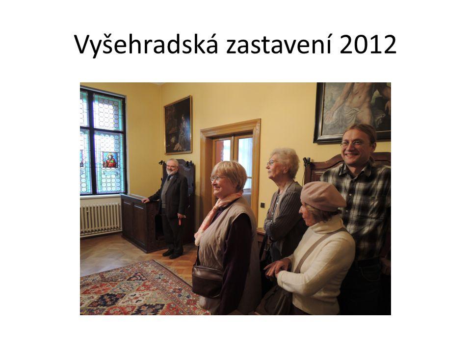 Vyšehradská zastavení 2012