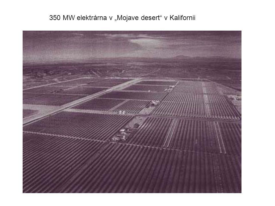 """350 MW elektrárna v """"Mojave desert v Kalifornii"""