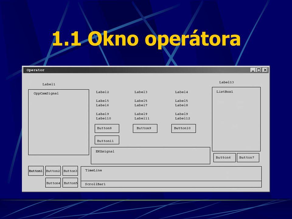 1.1 Okno operátora
