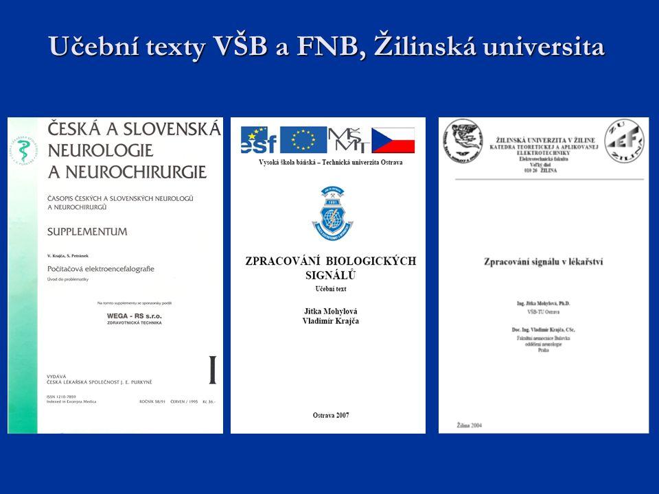 Učební texty VŠB a FNB, Žilinská universita