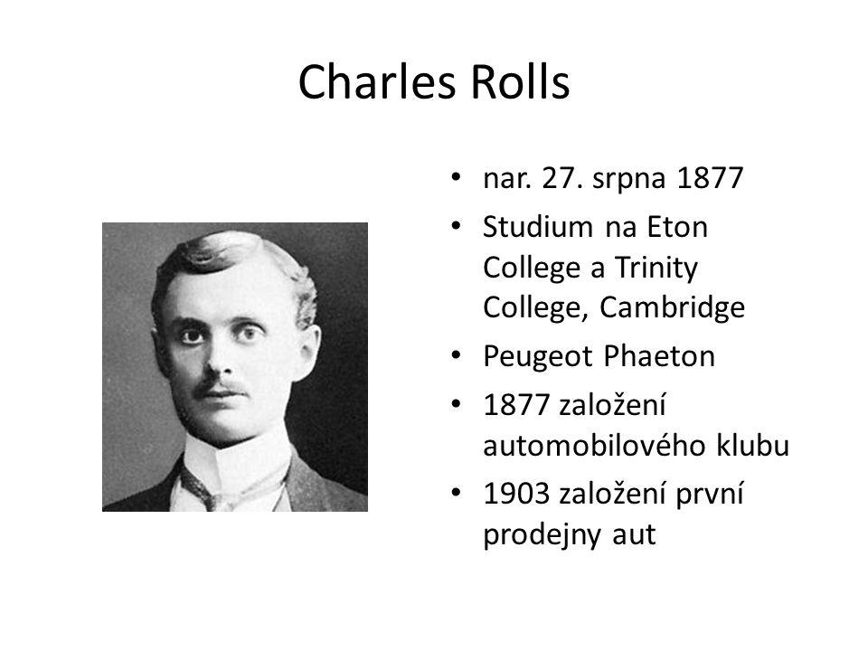 Charles Rolls nar. 27.