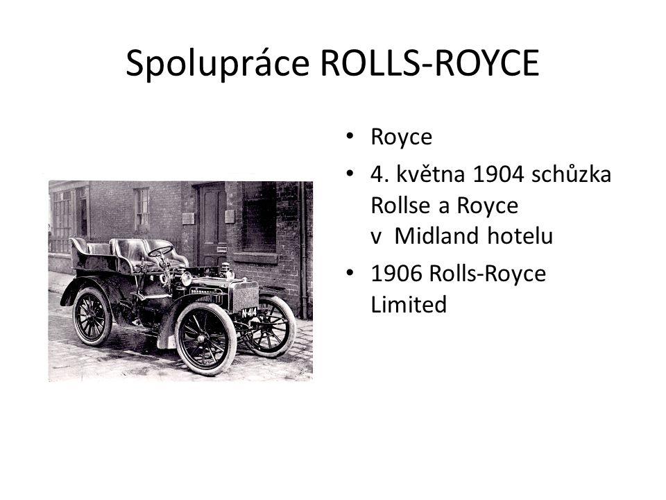 Spolupráce ROLLS-ROYCE Royce 4.