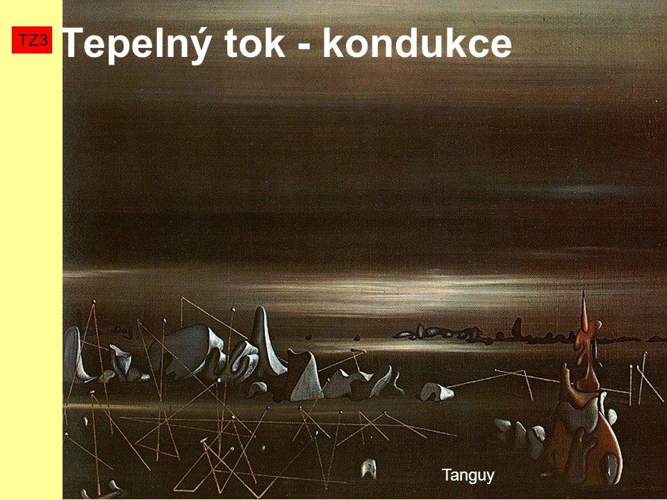 Tepelný tok - kondukce TZ3 Tanguy