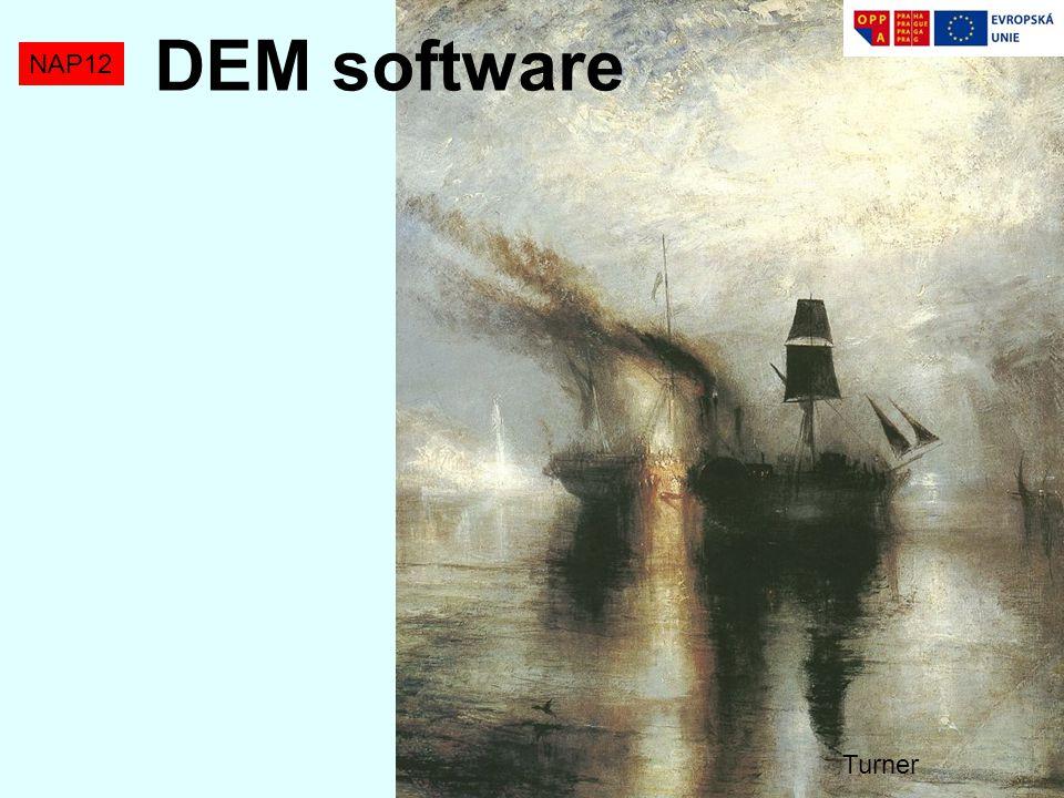 NAP12 DEM software Turner
