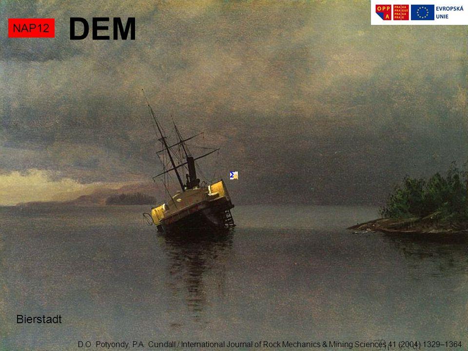 NAP12 DEM Bierstadt D.O. Potyondy, P.A. Cundall / International Journal of Rock Mechanics & Mining Sciences 41 (2004) 1329–1364