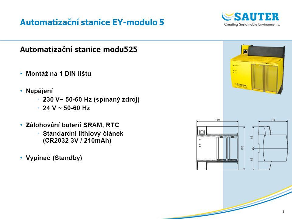3 Montáž na 1 DIN lištu Napájení 230 V~ 50-60 Hz (spínaný zdroj) 24 V ~ 50-60 Hz Zálohování baterií SRAM, RTC Standardní lithiový článek (CR2032 3V /