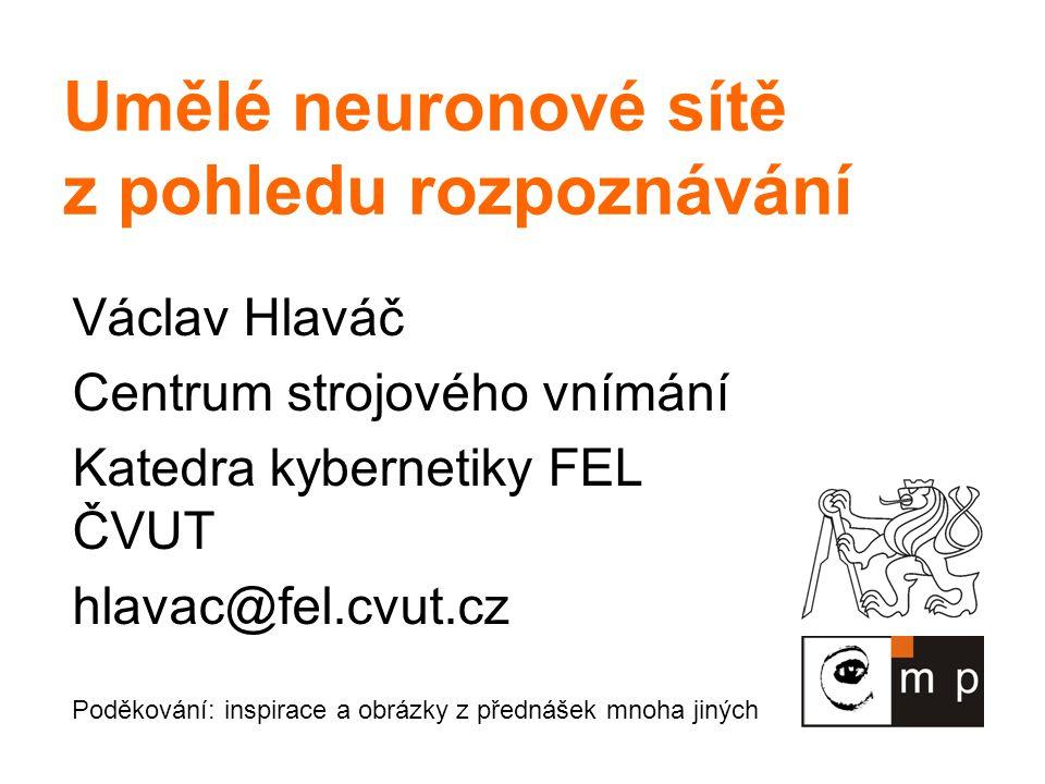12 Budoucí naděje NN Kombinovat paralelismus neuronů s rychlostí výpočtu/přepínání počítače.