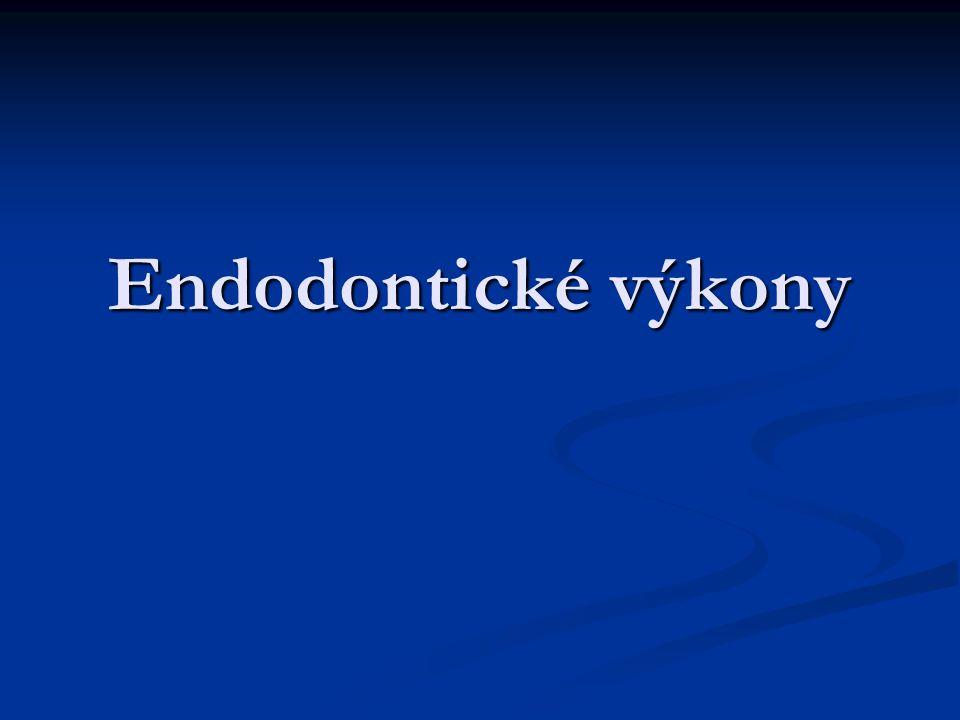 Endodontické výkony
