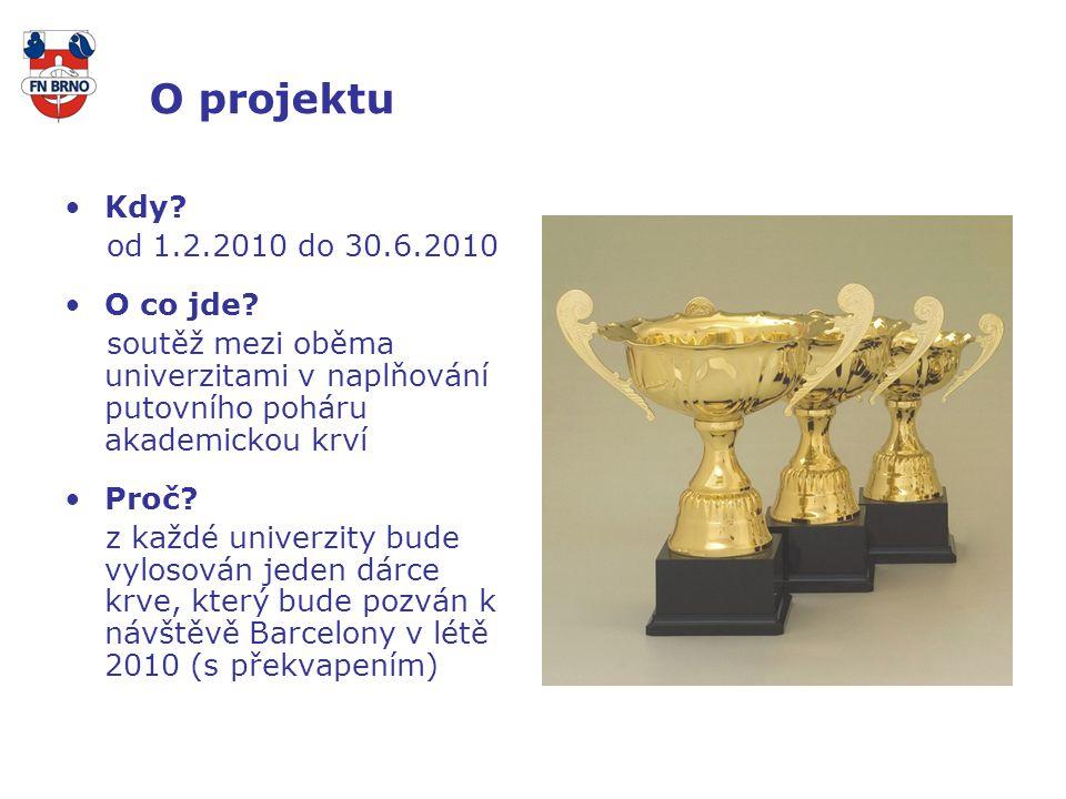 O projektu Kdy. od 1.2.2010 do 30.6.2010 O co jde.