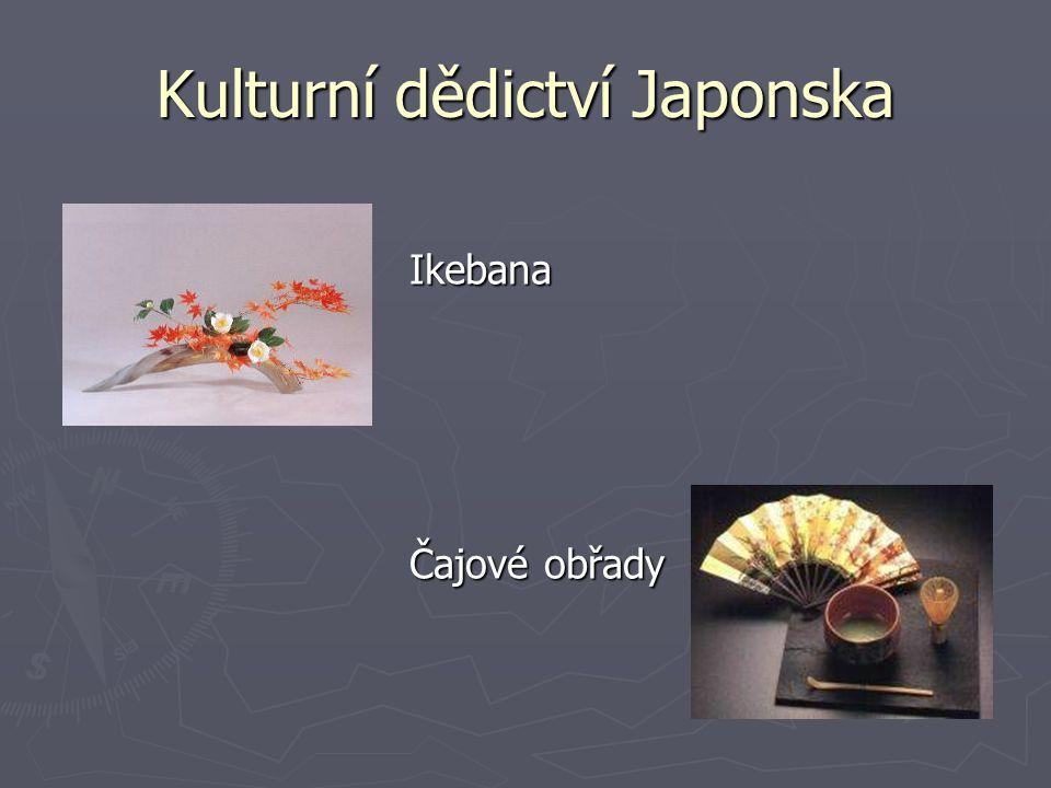 Ikebana Ikebana Čajové obřady Čajové obřady