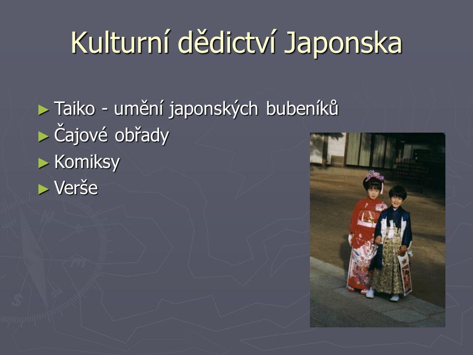Kulturní dědictví Japonska ► Taiko - umění japonských bubeníků ► Čajové obřady ► Komiksy ► Verše