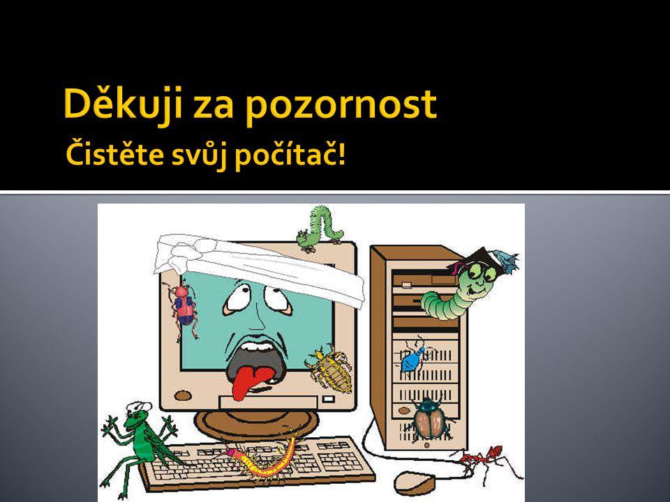 Čistěte svůj počítač!