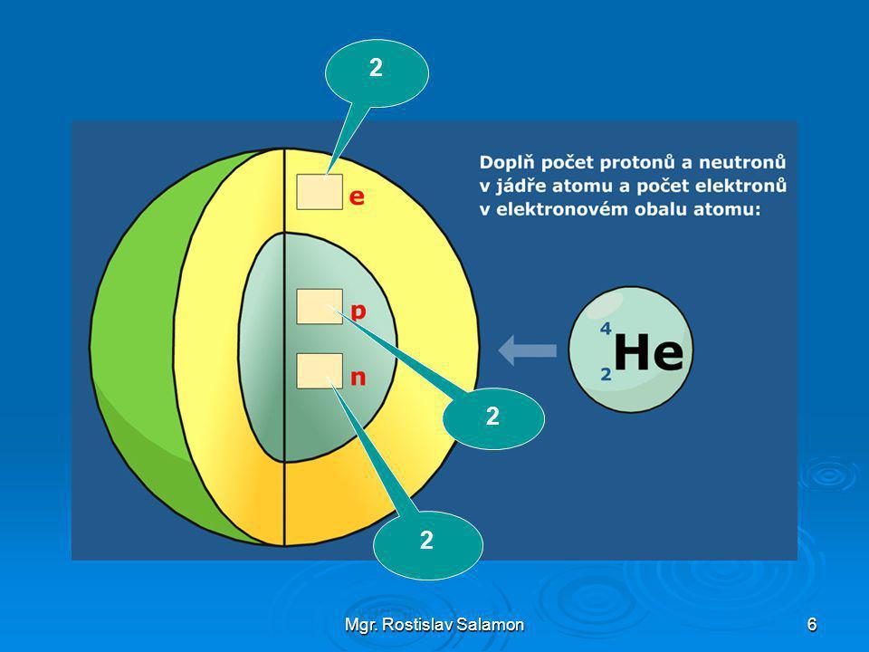 Mgr. Rostislav Salamon27 kalotový model molekuly kyslíku