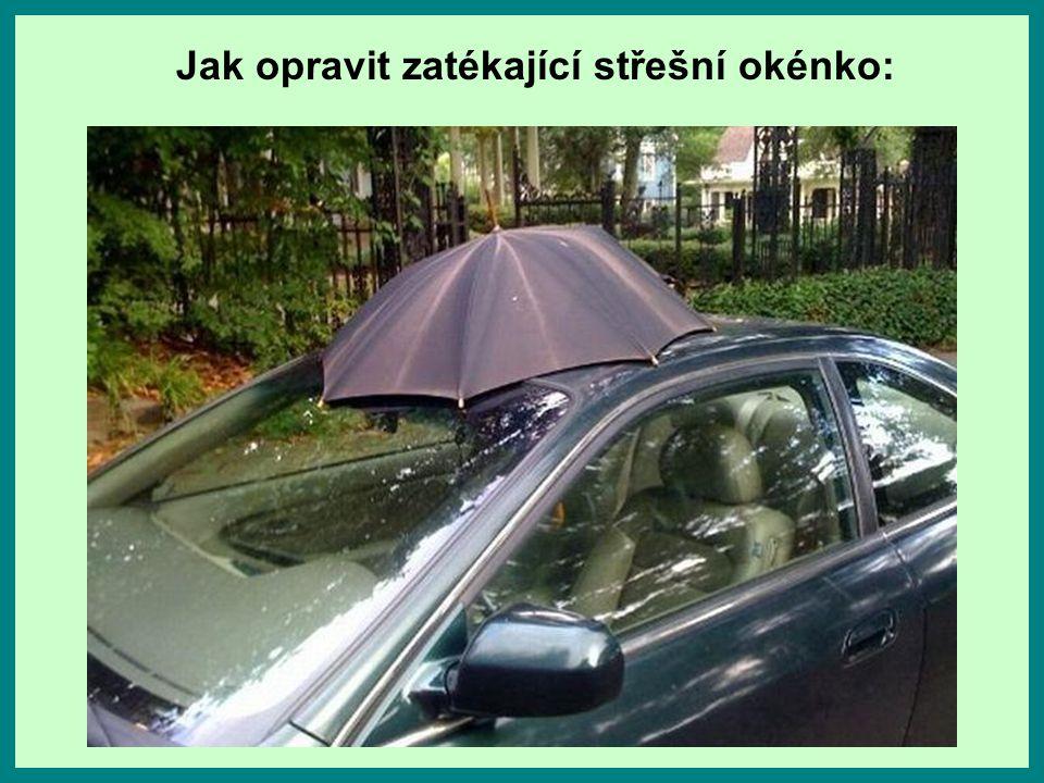 Jak opravit nefunkční zámek u automobilu: