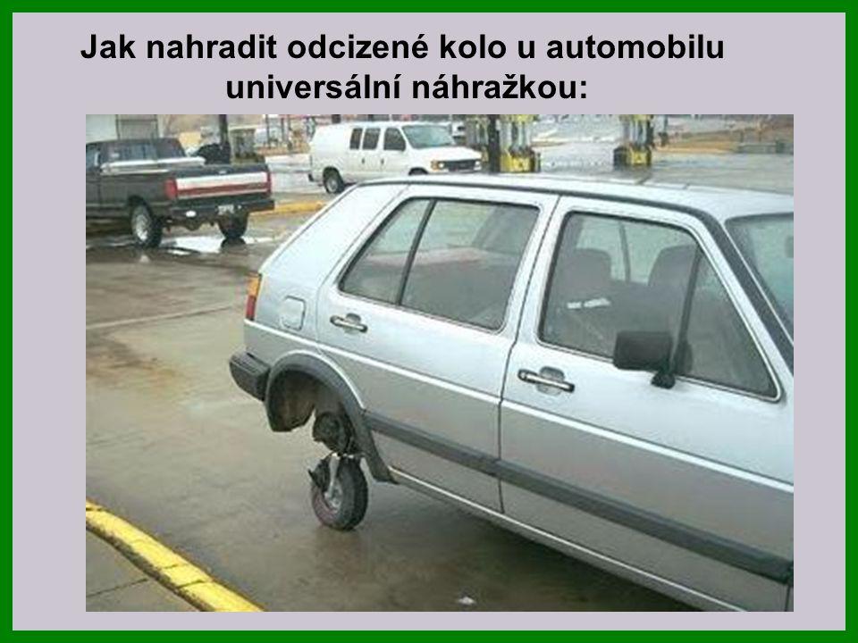 Jak se obejít bez odcizeného kola u auta značky Mazda 323 :