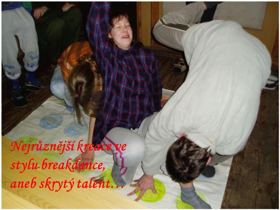 Nejrůznější kreace ve stylu breakdance, aneb skrytý talent…