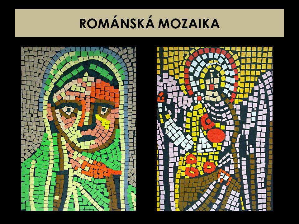 ROMÁNSKÁ MOZAIKA