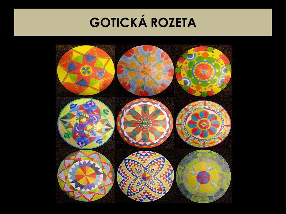 GOTICKÁ ROZETA