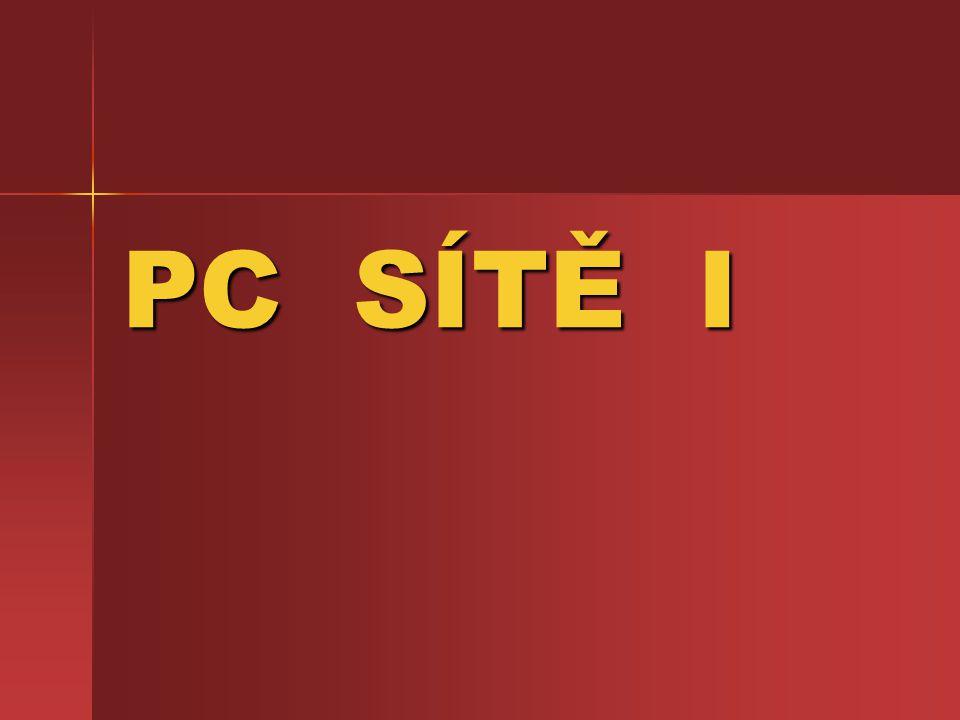 Koncepce sítí Peer-to-peer – síť tohoto typu neobsahuje obvykle žádný server a jde o zapojení počítačů každý s každým Peer-to-peer – síť tohoto typu neobsahuje obvykle žádný server a jde o zapojení počítačů každý s každým Klient/server – v síti existuje počítač, který řídí celou sít(server) a ten obsluhuje pracovní stanice(klienty) Klient/server – v síti existuje počítač, který řídí celou sít(server) a ten obsluhuje pracovní stanice(klienty)