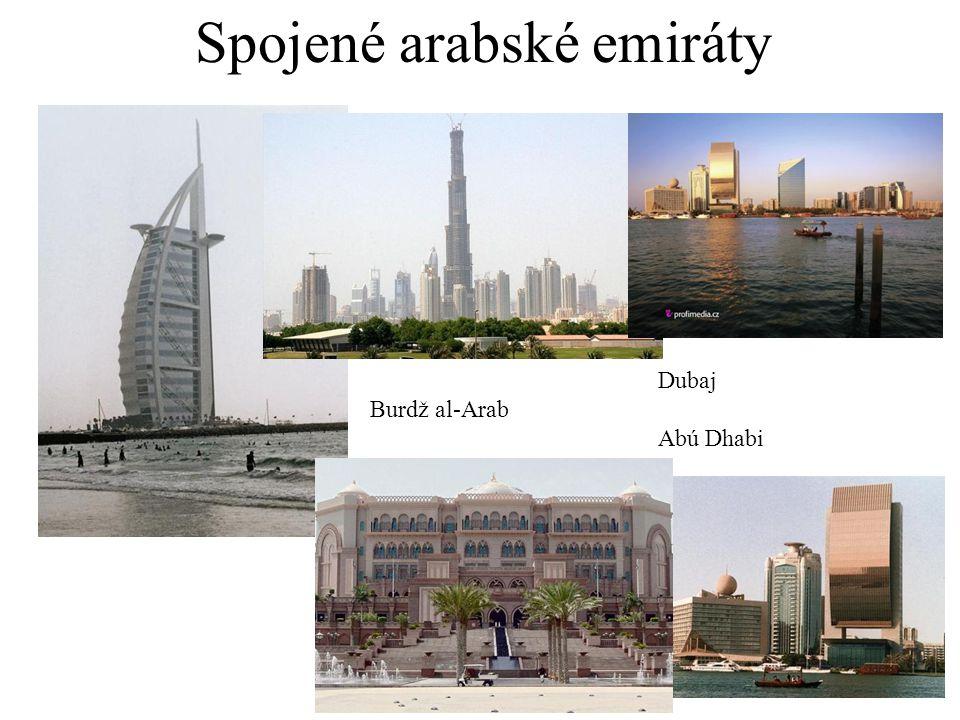 Spojené arabské emiráty Dubaj Burdž al-Arab Abú Dhabi