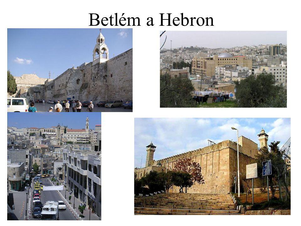 Betlém a Hebron