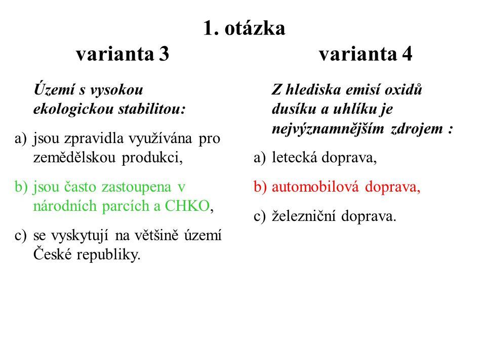 Písemka č.2  jméno, kruh, varianta 3, 4  Odpověď – 1 a b, 2 b 3 a c b  6 x 50 sekund opisování 