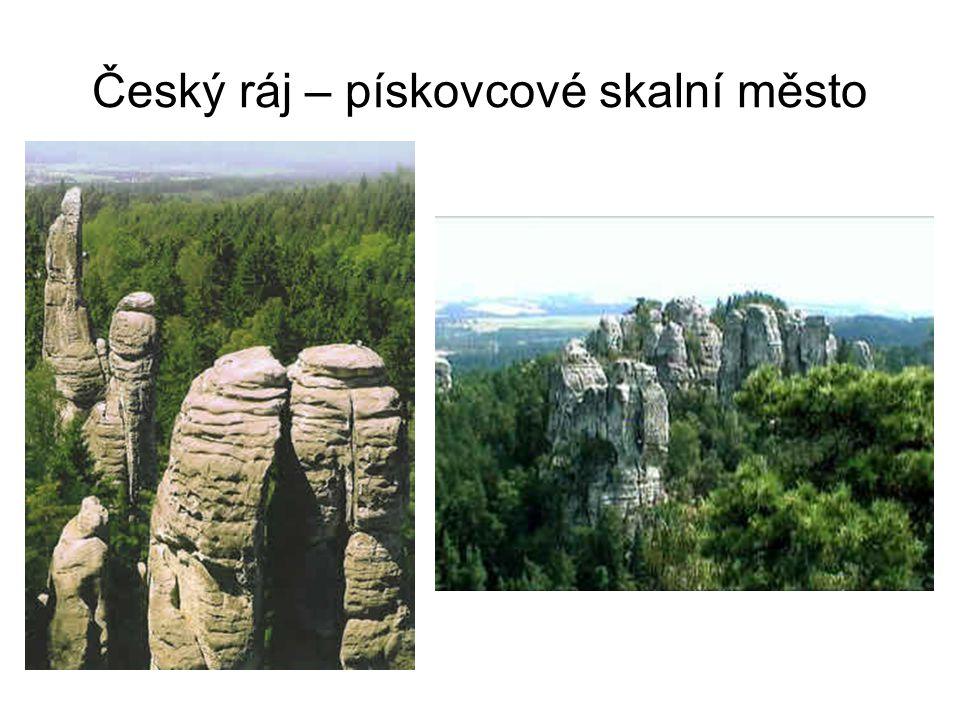 Český ráj – pískovcové skalní město