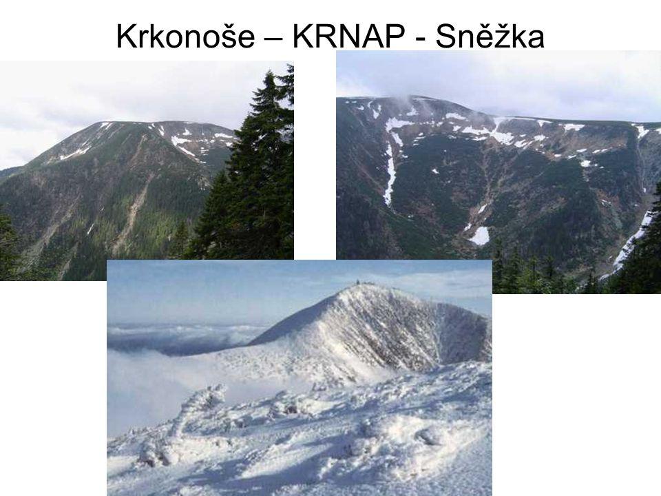 Části subprovincie Krkonošská oblast: -Šluknovská pahorkatina (Hrazený) -Lužické hory (Luž) -Ještědsko-kozákovský hřbet (Ještěd 1012 m) -Žitavská pánev -Frýdlantská pahorkatina (Andělský vrch) -Jizerské hory (Smrk 1124 m) -Krkonoše (Sněžka 1602 m) -Krkonošské podhůří (Hejlov) Orlická oblast: -Broumovská vrchovina (Královecký Špičák) -Orlické hory (Velká Deštná 1115 m) -Podorlická pahorkatina (Špičák) -Kladská kotlina Jesenická oblast: -Zábřežská vrchovina (Lázek) -Mohelnická brázda -Hanušovská vrchovina (Jeřáb) -Kralický Sněžník (Kralický Sněžník 1423 m) -Rychlebské hory (Smrk) -Zlatohorská vrchovina (Příčný vrch) -Hrubý Jeseník (Praděd 1492 m) -Nízký Jeseník (Slunečná 800 m) -Oderské vrchy (Fidlův kopec) Krkonošsko-jesenické podhůří: -Vidnavská nížina (bezejmenná kóta 326 m) -Žulovská pahorkatina (Boží hora)