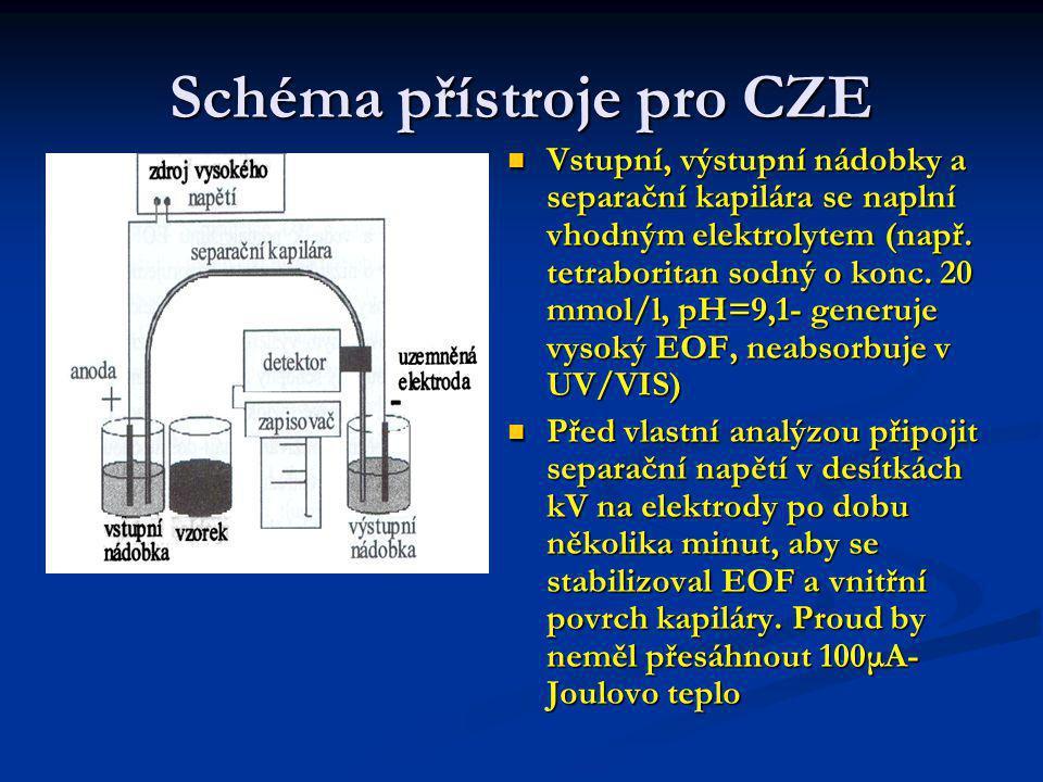 Dávkování v CZE Elektrokinetické dávkování.
