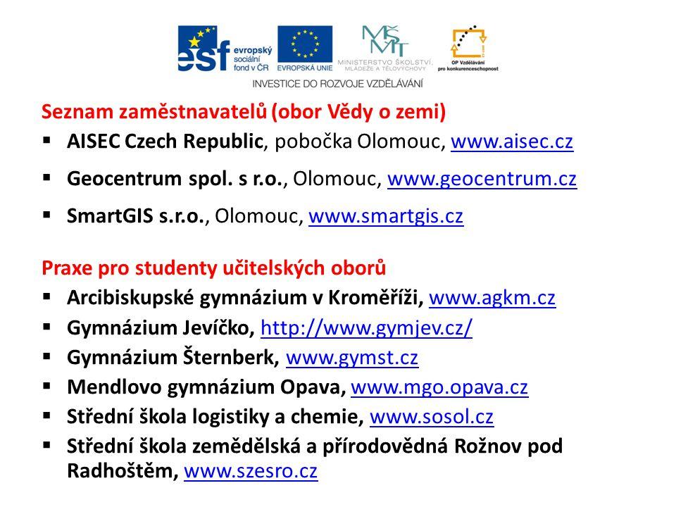 """NEZBYTNÉ FORMALITY K PRAXÍM DOCHÁZKOVÝ LIST (osobně k vyzvednutí u koordinátorky nebo ke stažení na http://www.pda.upol.cz/index.php?str=praxe- podminky po skončení praxe odevzdán v originále vyplněný a podepsaný studentem i konzultantem koordinátorce praxí; http://www.pda.upol.cz/index.php?str=praxe- podminky formuláře """"HODNOCENÍ PRAXE STUDENTEM"""" a formulář """"HODNOCENÍ PRAXE KONZULTANTEM je nutné dodat (elektronicky nebo osobně) koordinátorce praxí po skončení praxe; na obou formulářích musí být uvedeno období praxe, které odpovídá období na docházkovém listě."""