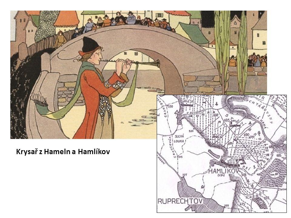 Krysař z Hameln a Hamlíkov